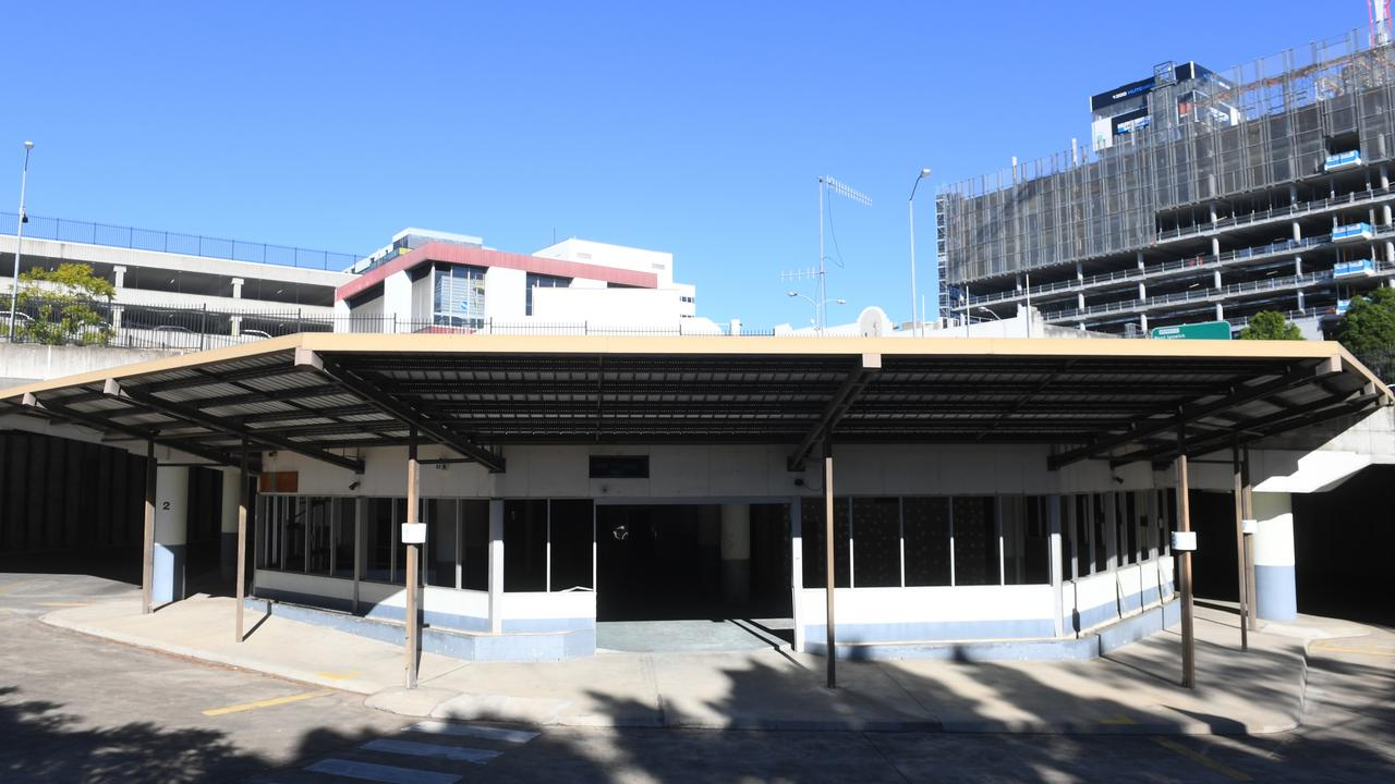 The abandoned Ipswich Transit Centre in the CBD will be demolished before the site is put up for sale later in the year.