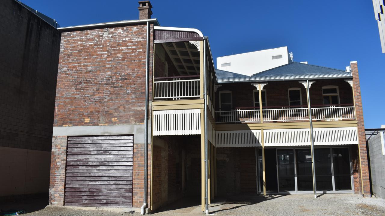 An extension to the rear of the building could be on the cards.