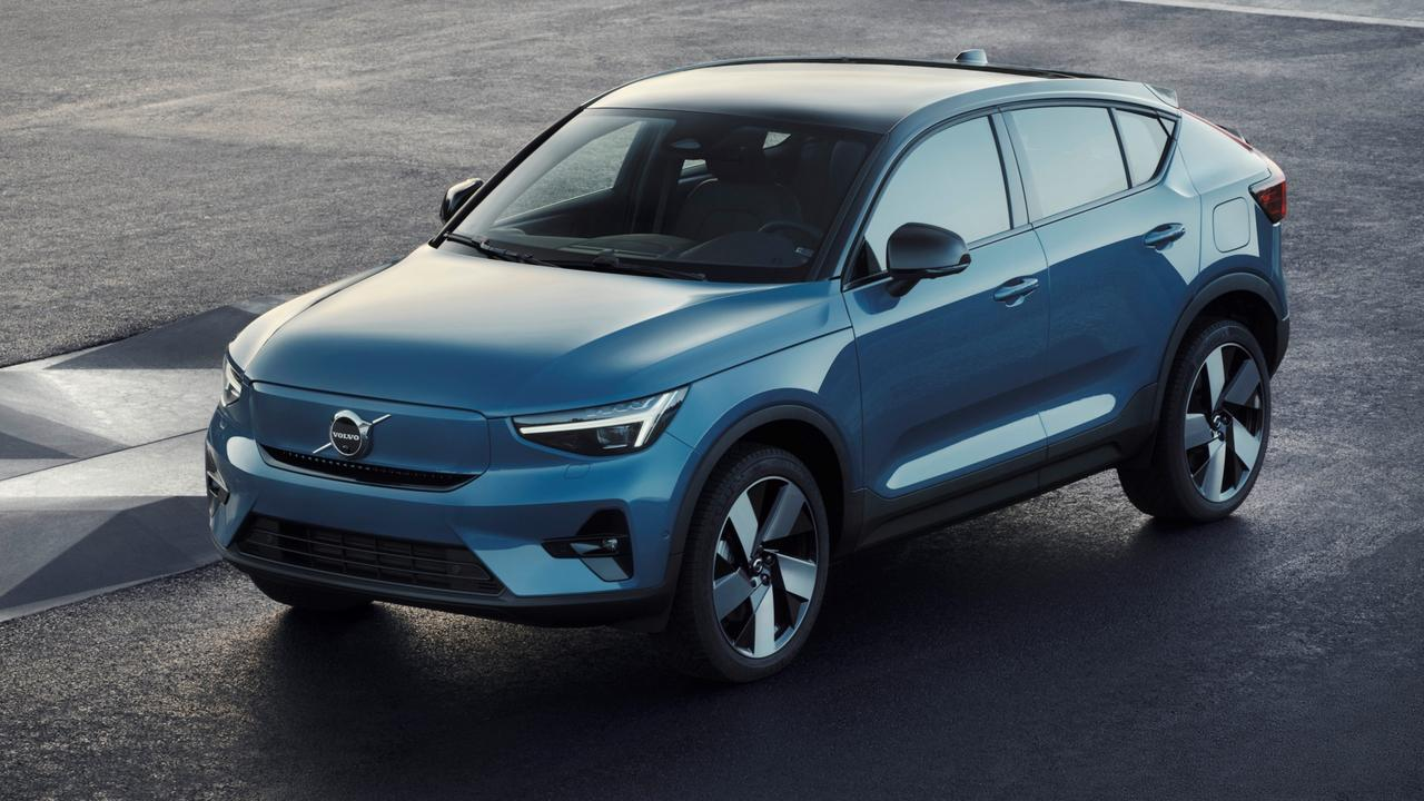 The Volvo C40 Recharge will have 300kW.