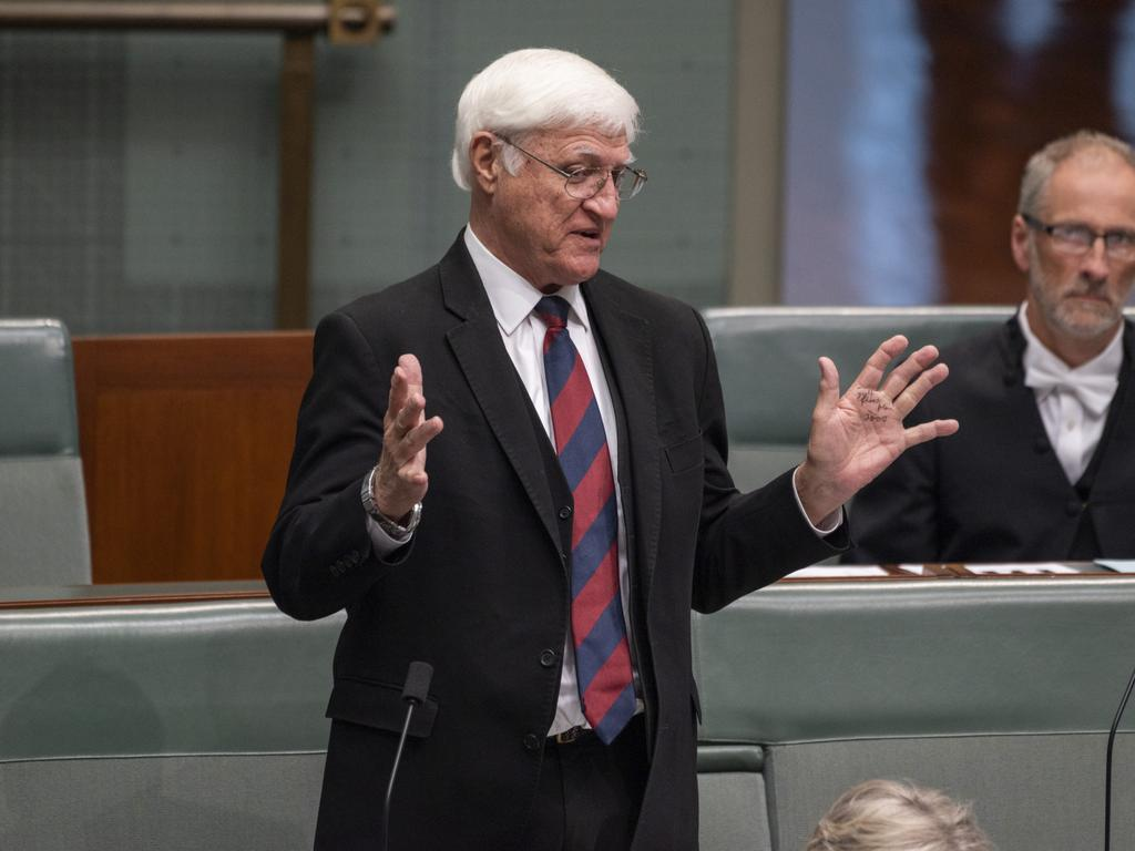 The motion had initially been moved by Bob Katter. Picture: NCA NewsWire / Martin Ollman