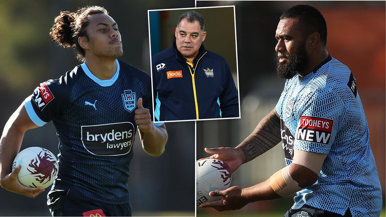 Australian coach Mal Meninga has made a huge call just hours out from the opening State of Origin match, questioning NSW's selection methods.