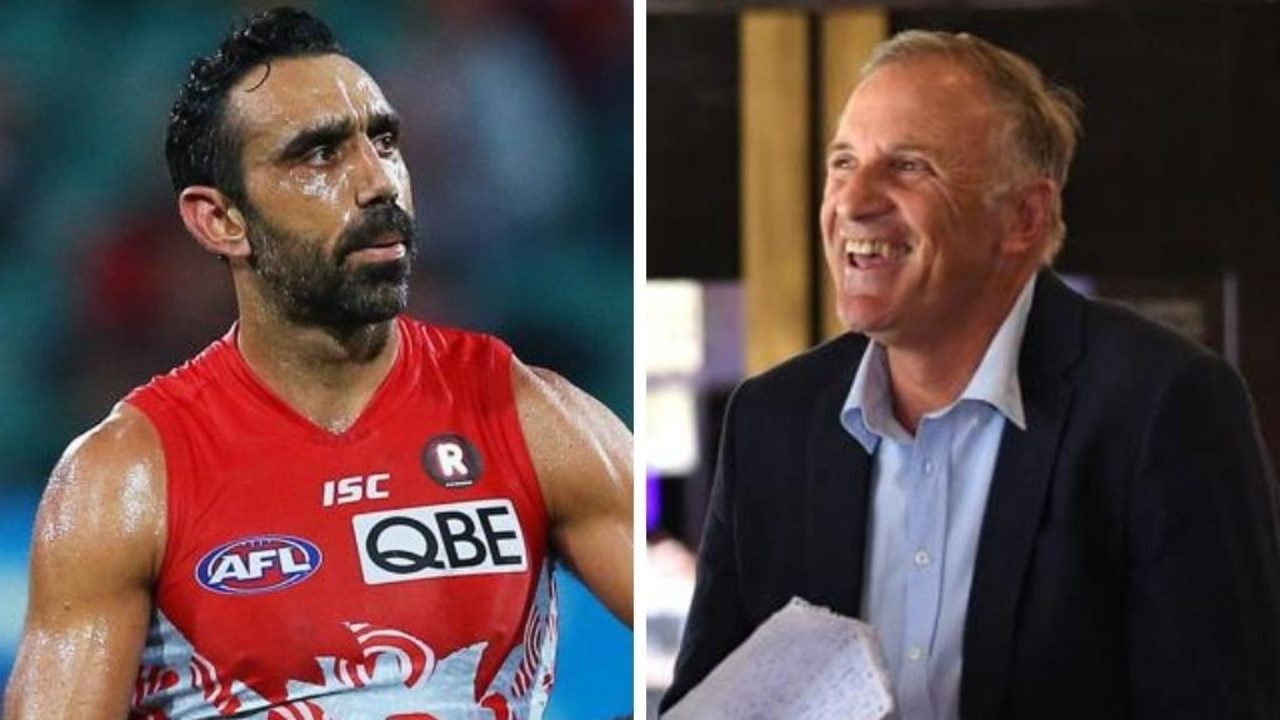 An AFL icon turned radio host has been accused of missing the point while delivering his reaction to Adam Goodes' Hall of Fame rejection.