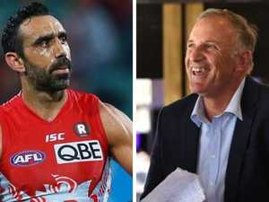 Host under fire for Adam Goodes comments