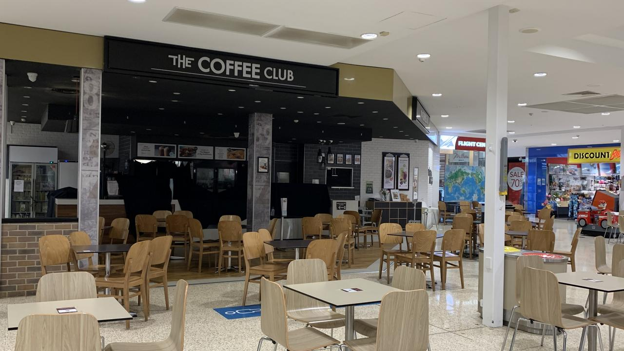 The Coffee Club at Stockland Caloundra was shut on Wednesday before its advertised closing time. It came after Queensland Health announced a woman with Covid-19 had visited the cafe.