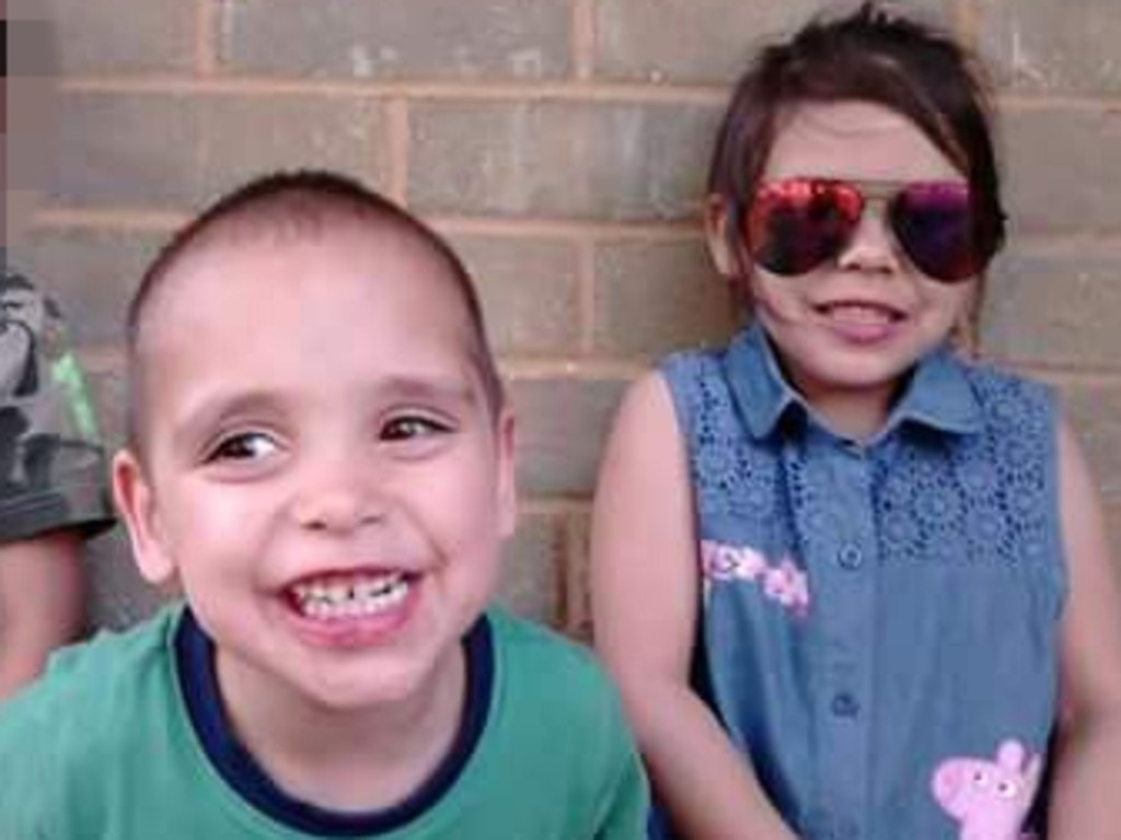 Korey, 5, and Amber, 6, were strangled to death by their mother's partner Steven Peet in 2016. Picture: Supplied