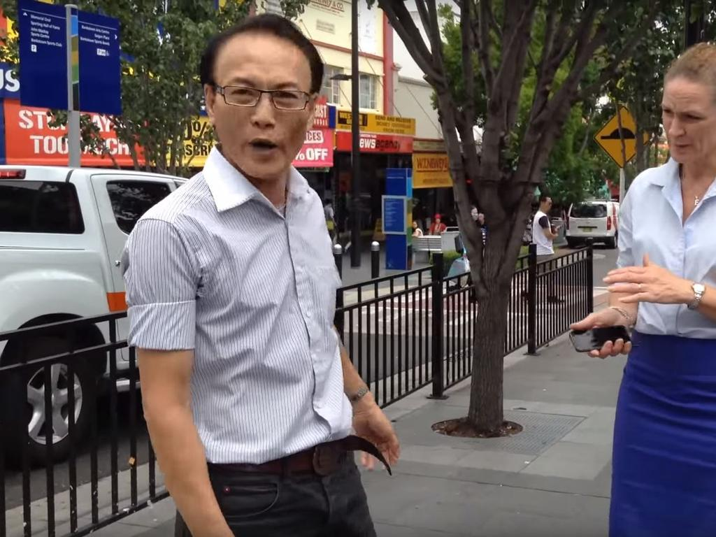 Bankstown lawyer Ho Ledinh was shot dead outside the Happy Cup Cafe in 2018. Picture: YouTube