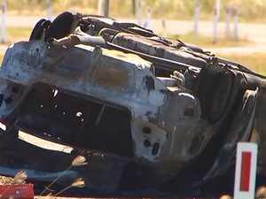 Bowen boy, 13, dies in alleged stolen car crash