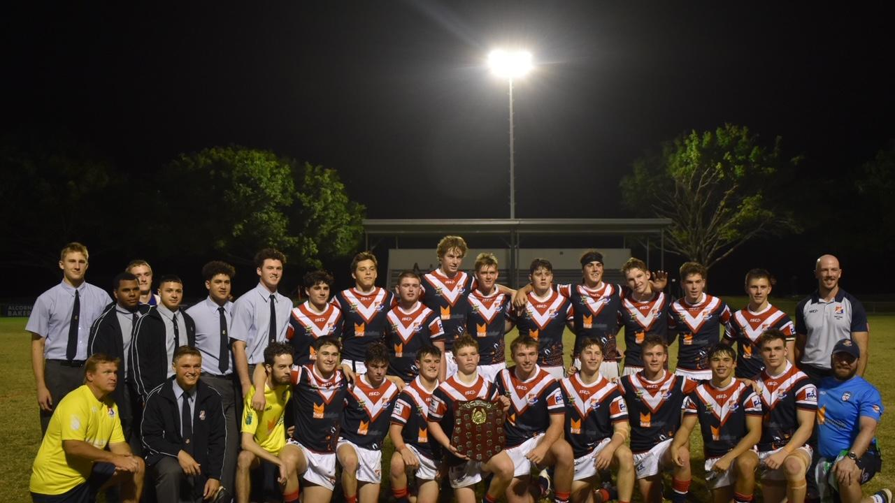 St Pat's defeated Mackay SHS in the opening round of the Aaron Payne Cup. Picture: Matthew Forrest.