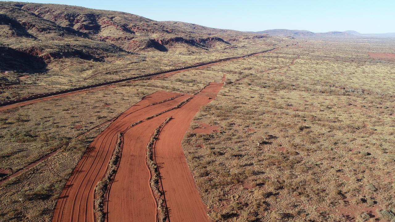 It is alleged the woman was raped at a mine in the Pilbara. Picture: BHP