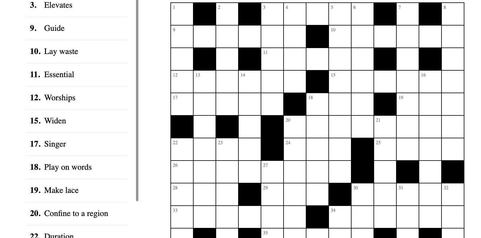 There are some great puzzles options each day on The Courier Mail website.
