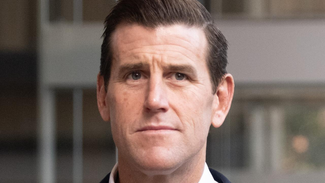 Ben Roberts-Smith has given evidence as the first witness in his court case against Nine. Picture: NCA NewsWire / James Gourley