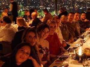 Ex-bikie's lavish dinner with Aussie drug lord