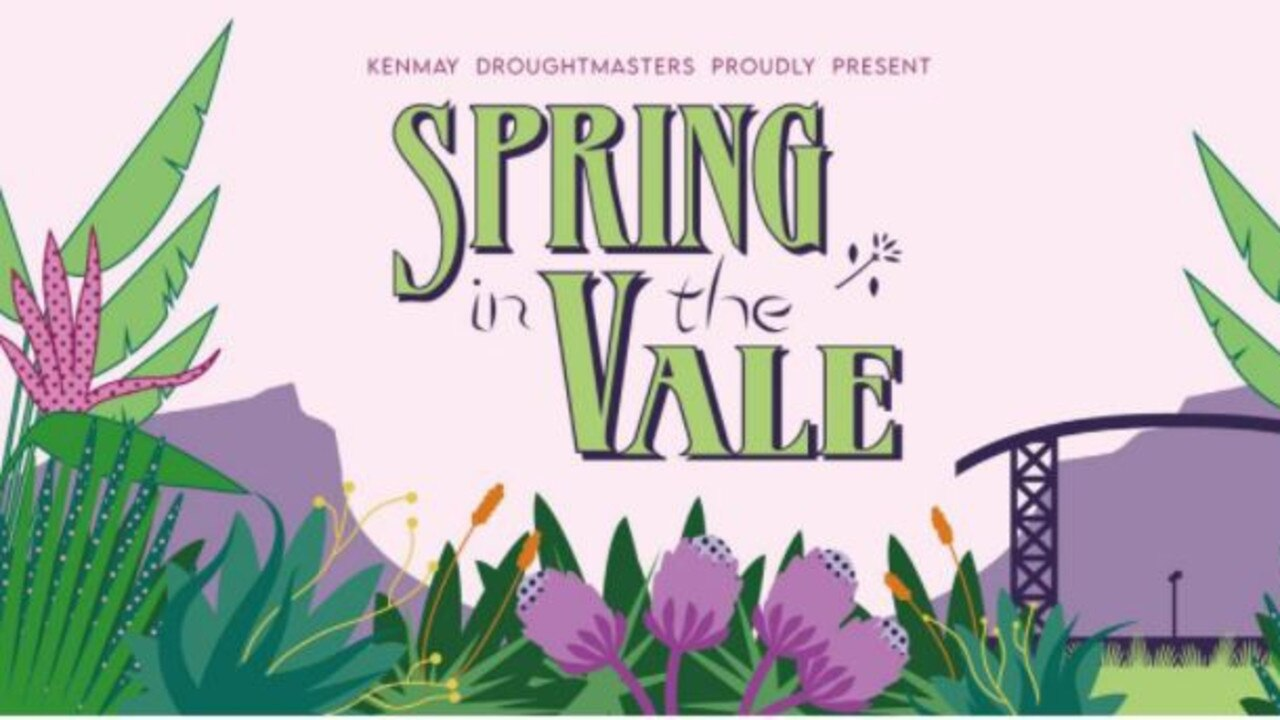 Spring in the Vale Music Festival poster.