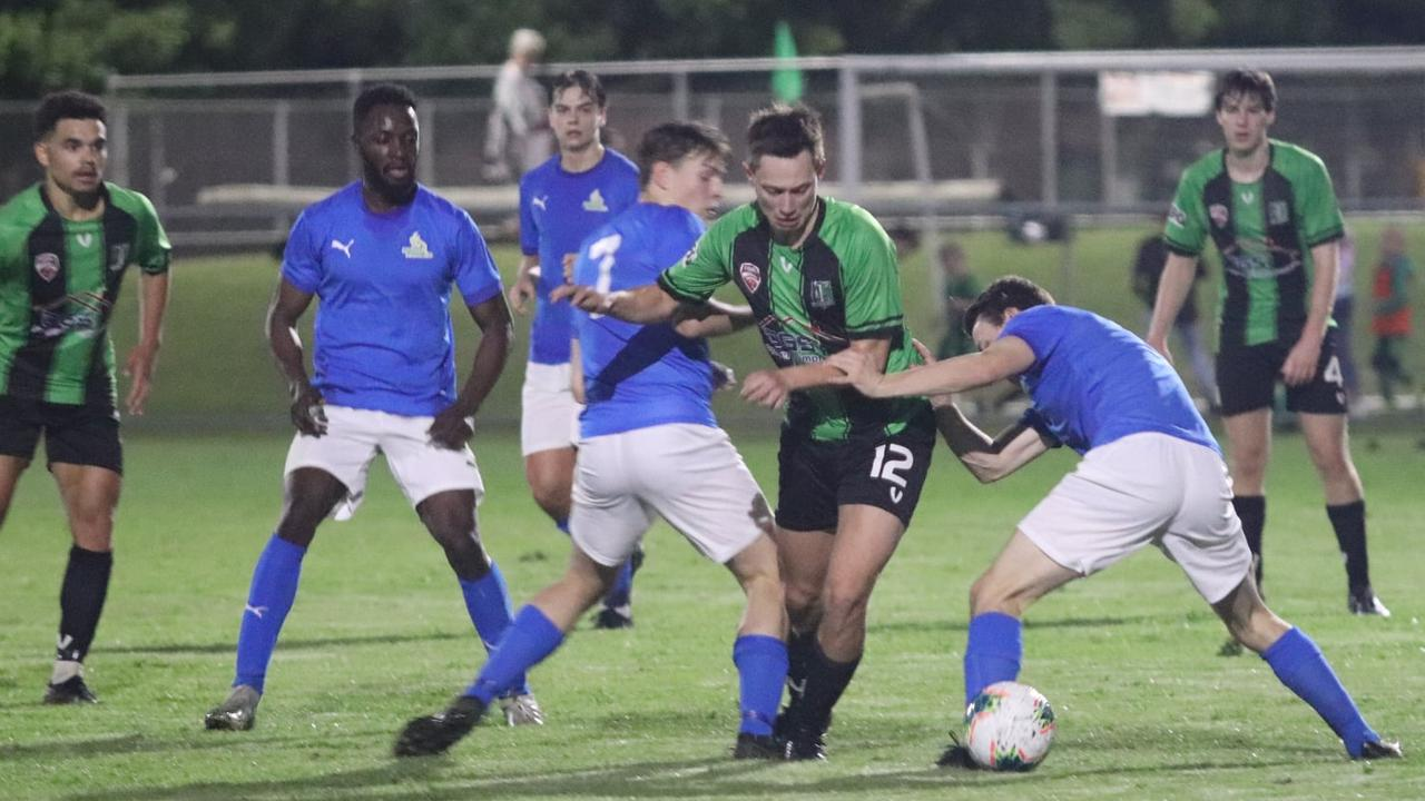 It's becoming crunch time for Football Queensland Premier League 1 sides like the Ipswich Knights and Western Pride. Picture: Christina Moran