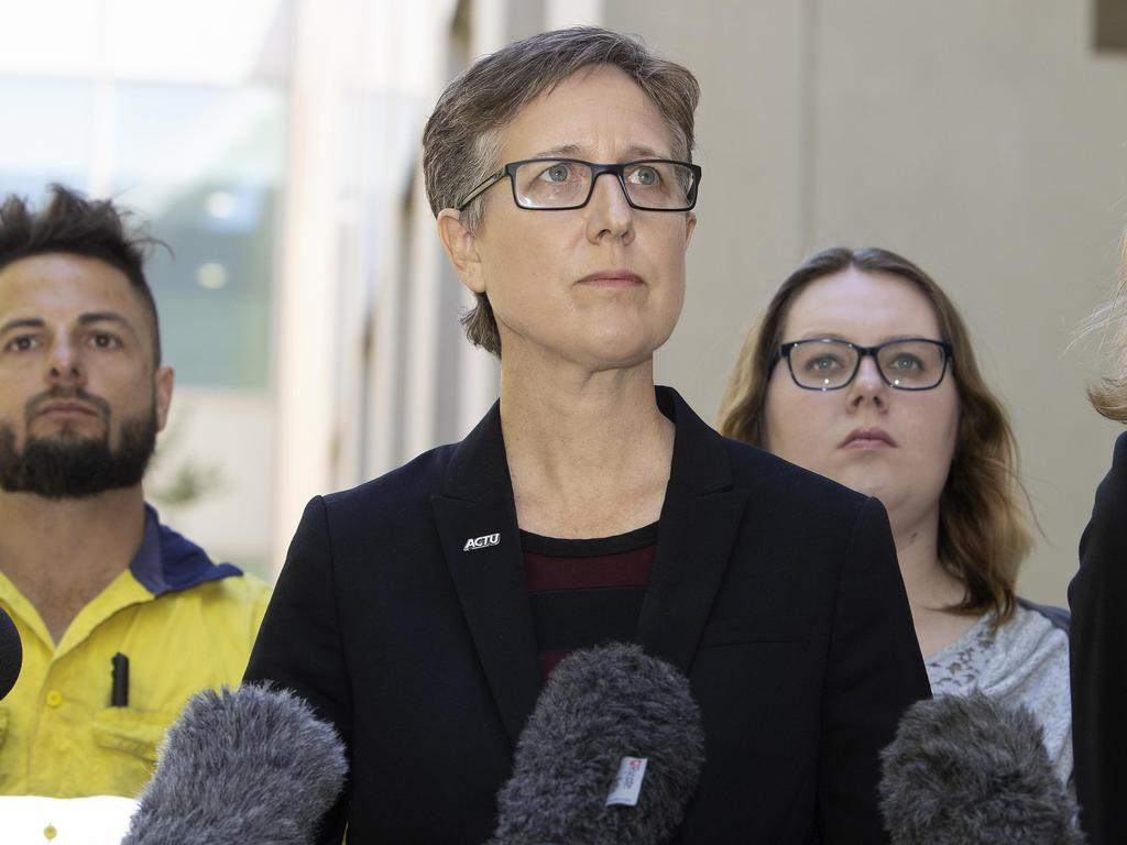 ACTU secretary Sally McManus has called for paid leave to allow people to get vaccinated. Picture: NCA NewsWire / Gary Ramage