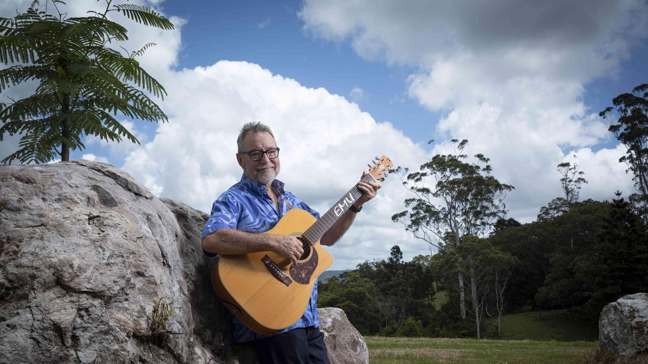 Country singer-songwriter John Williamson. Picture: Russell Shakespeare