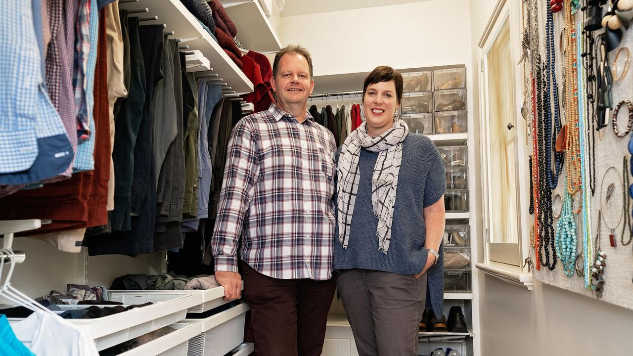 Home organisation gurus Briar and Dave Strutton lift the lid on domestic wardrobe wars to inspire others to sort out their clutter.