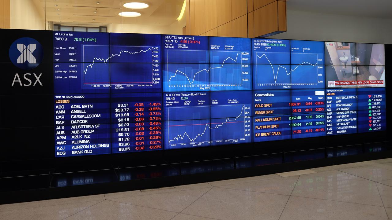 The ASX has broken records multiple times in recent weeks. Picture: NCA NewsWire/David Swift