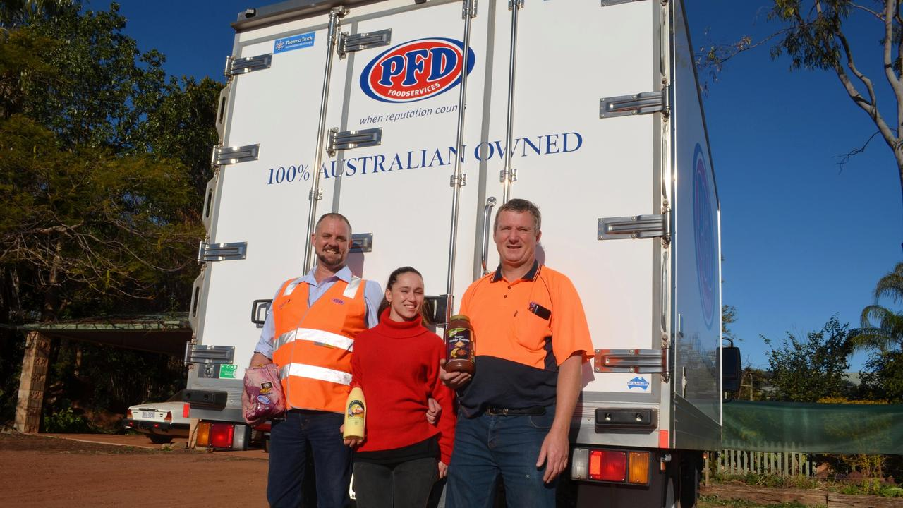 Many outside the industry wouldn't know much about PFD Food Services, but would recognise the logo of the 78-year-old company. Picture: David Barwell / Balonne Beacon