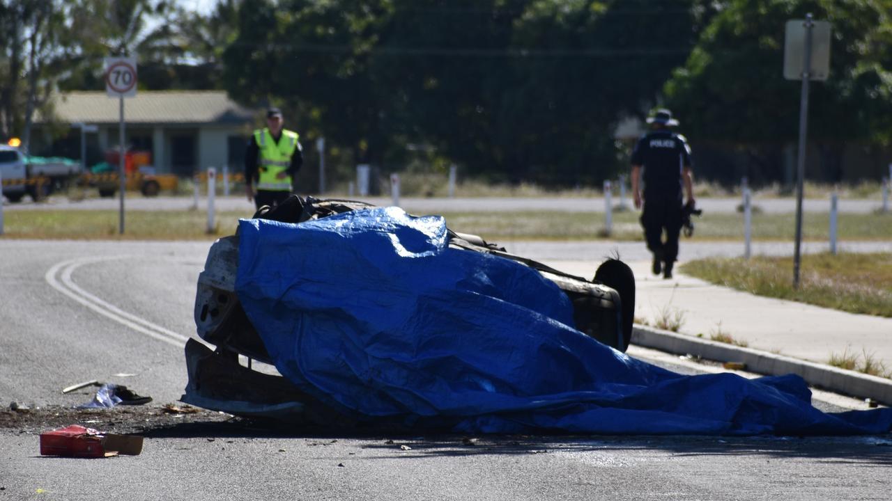 The stolen car crash that killed Bailey Pini. Picture: Kirra Grimes