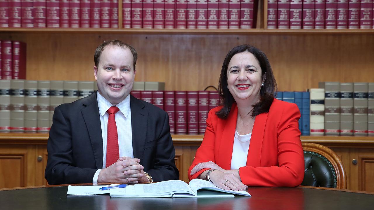Mr Pegg served alongside Queensland Premier Annastacia Palaszczuk.