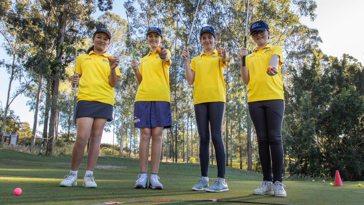 Brookwater Golf & Country Club is throwing its support behind females in sport, offering a new scholarship program for schoolgirls to experience the game of golf.