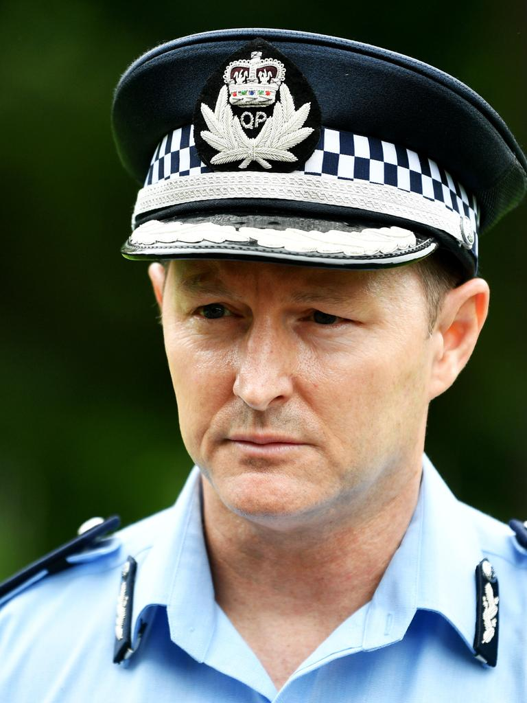 Northern Region Assistant Commissioner Mark Wheeler. Picture: Alix Sweeney
