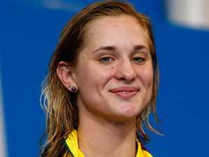 Swim star goes dark after 'perverts' bomb