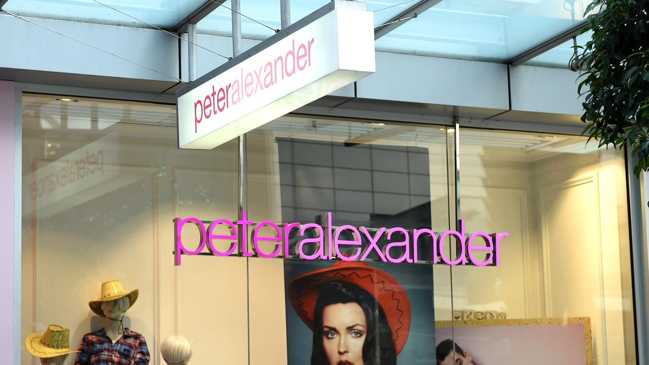 The retailer behind Peter Alexander and Smiggle has had a bumper autumn sales season. Picture: Dan Himbrechts/AAP