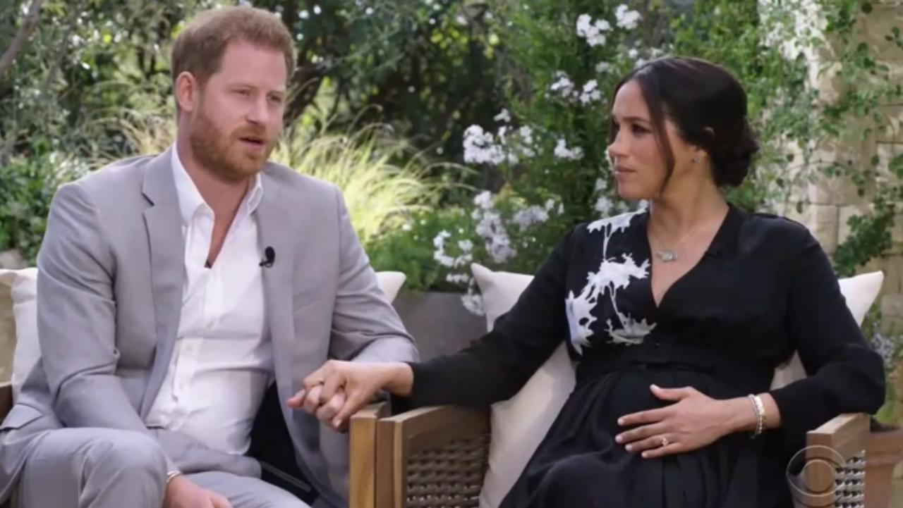 Prince Harry and Meghan Markle's interview with Oprah Winfrey aired in March.