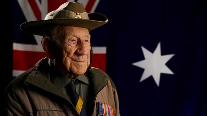 Australian war hero dead at 101