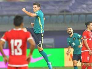 Socceroos blast Nepal off the field
