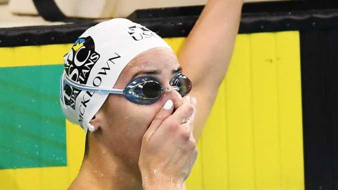 Aussie swim sensation smashes world record