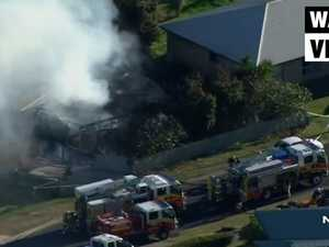 One dead, two missing after Kilcoy house fire (7News)