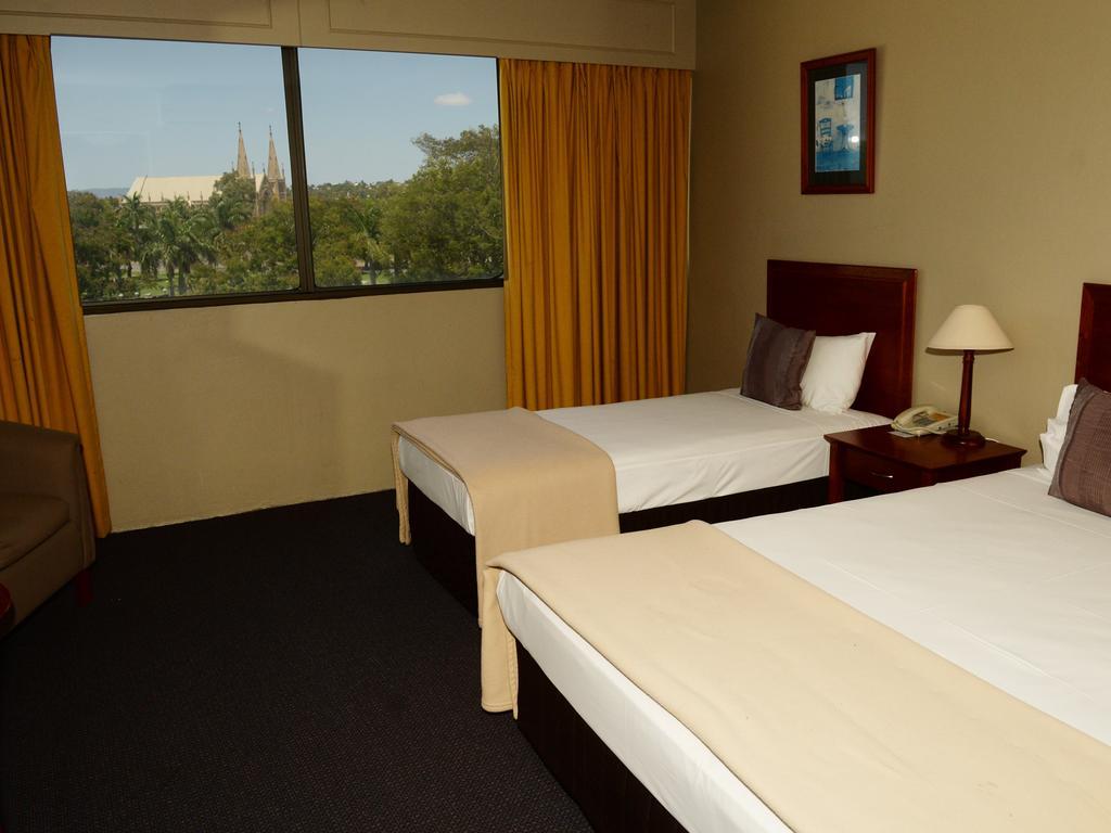 Rockhampton Plaza Hotel.