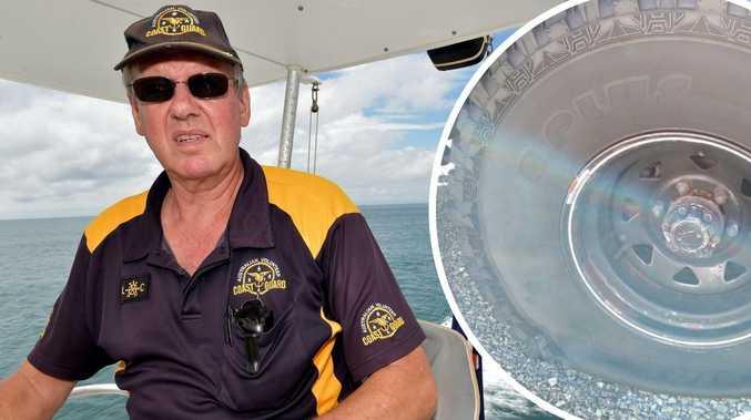 'Low act': Vandals damage volunteers' tyres at boat ramp