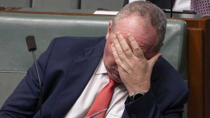 Different if names were 'Jane and Sally': Barnaby's Biloela spray