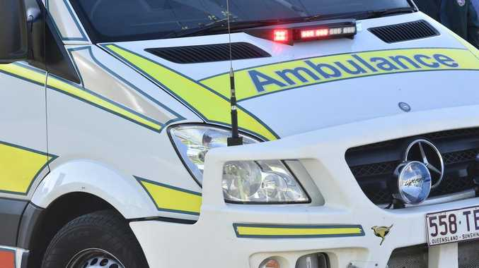 Man hospitalised after rollover on main road