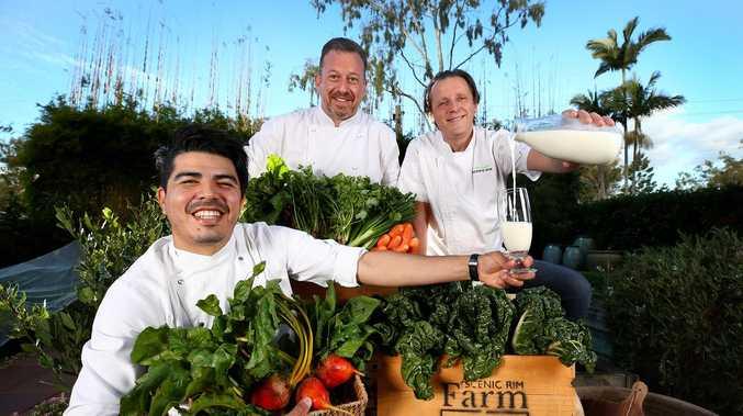 Top chefs host ultimate dinner under the stars