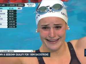 Kelly McKeown breaks 100m backstroke World Record