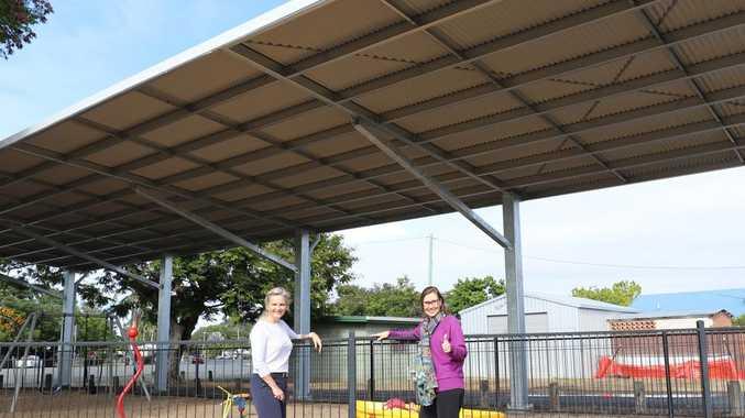 $85K shade shelter installed at North Rocky park
