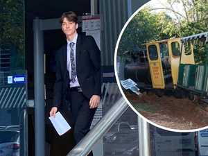 Man accused of crashing Big Pineapple train in court