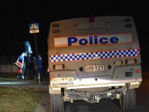 Citizens arrest detains wanted man at Mackay crash scene