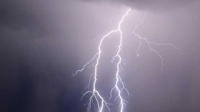 Rainfall with a chance of thunderstorms for Mackay