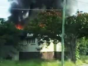Police say CCTV caught alleged arsonist in the act