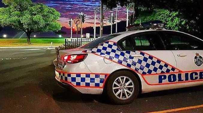 Screaming, swearing man in handcuffs kicks police car doors open