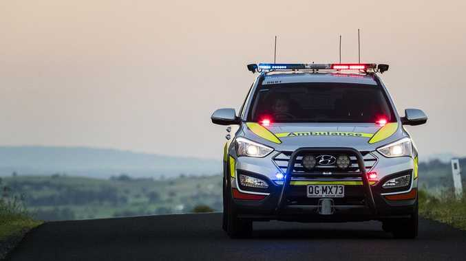 Two hospitalised in crash at CQ intersection