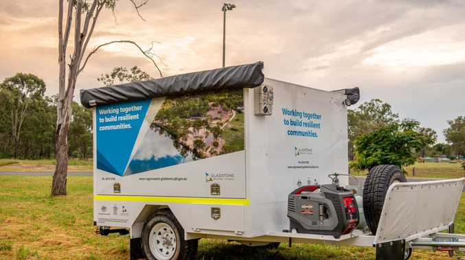 How clever trailer will help Gladstone towns in disasters