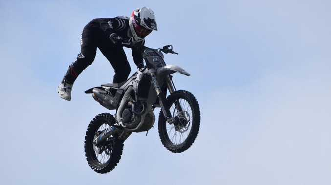 Last chance to catch flying motocross kings at Mackay Show