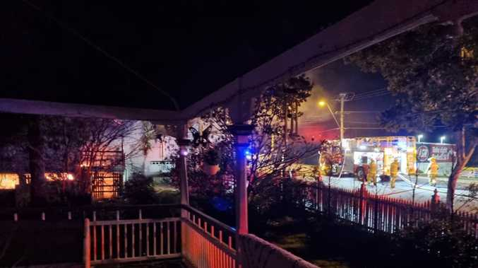 Investigators probing fire at takeaway, house